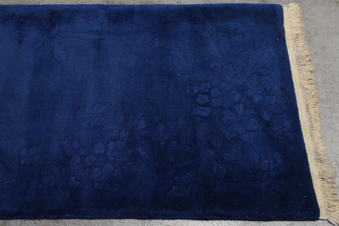 Chinese blue background Nichols rug - 7