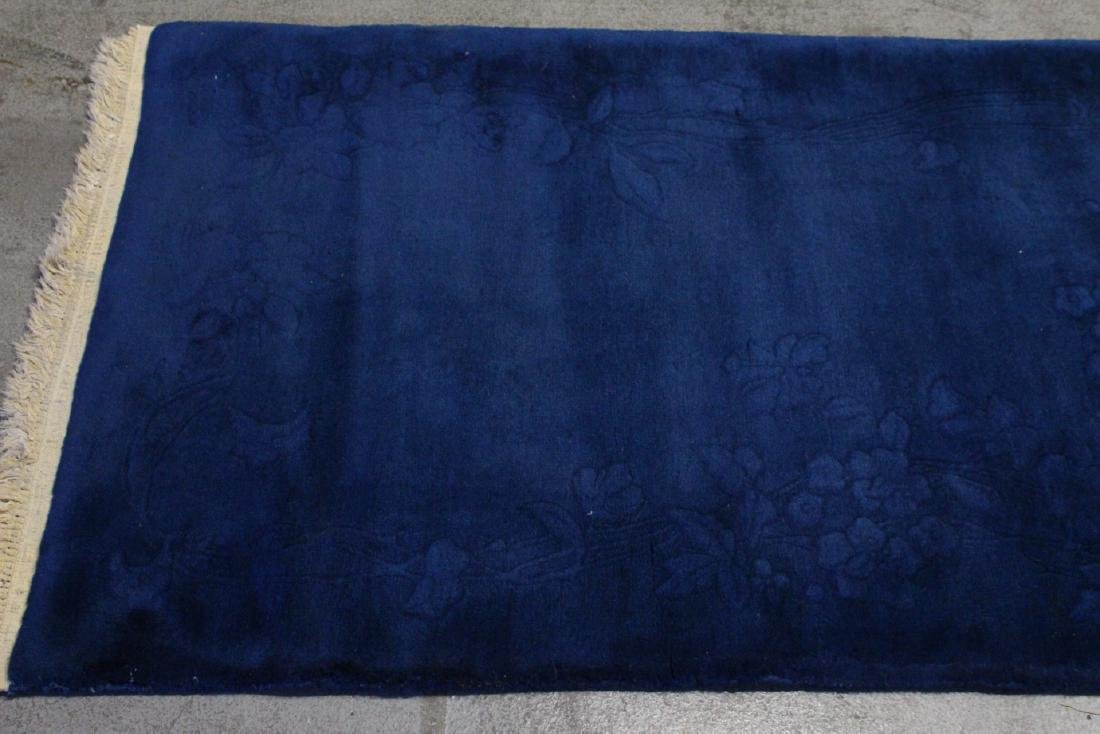 Chinese blue background Nichols rug - 8