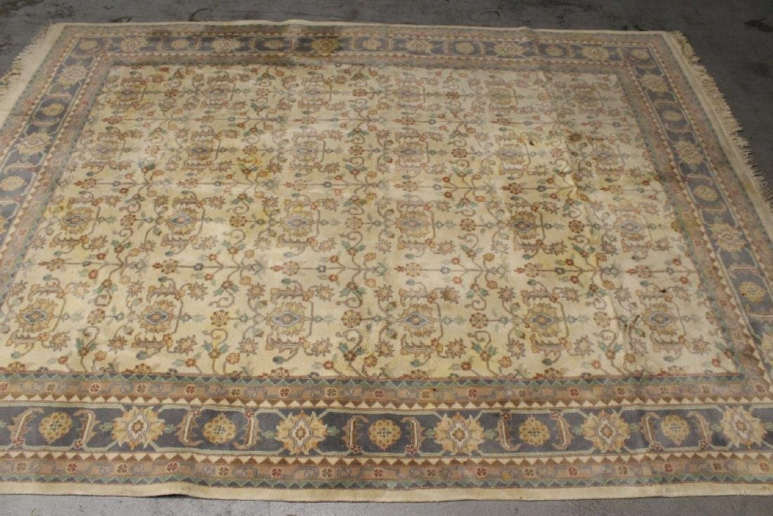 A vintage palace size Chinese rug - 2
