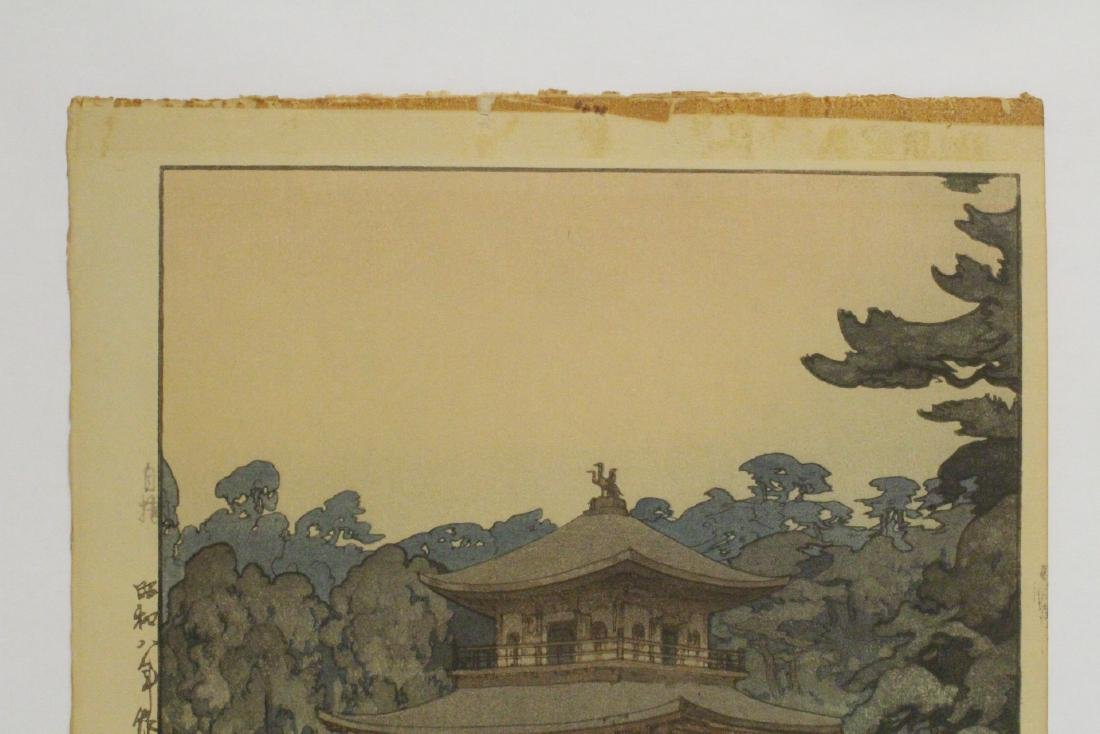 Japanese w/b print by Hiroshi Yoshida - 2