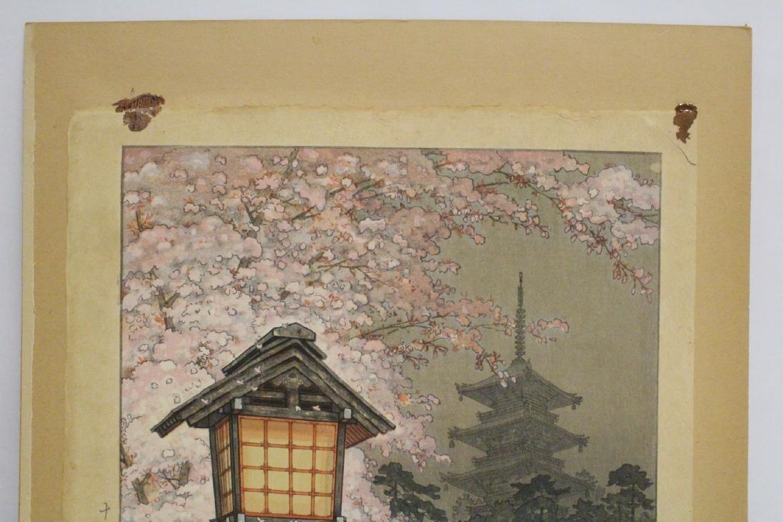 Japanese contemporary woodblock print - 3