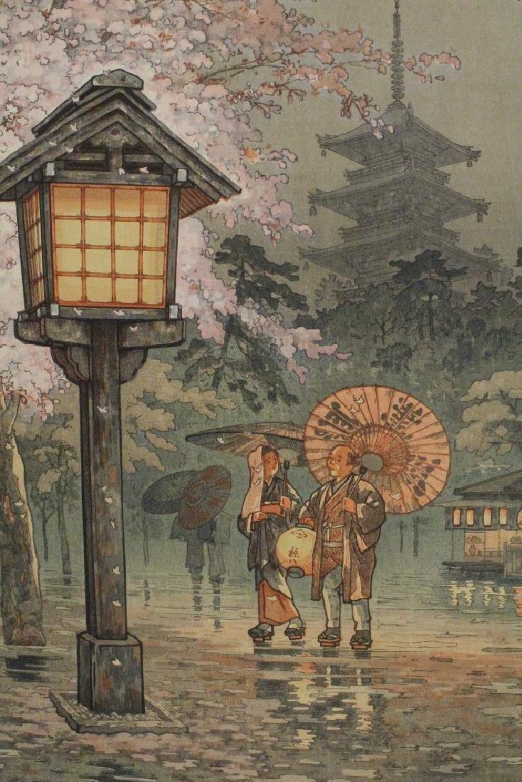 Japanese contemporary woodblock print - 6