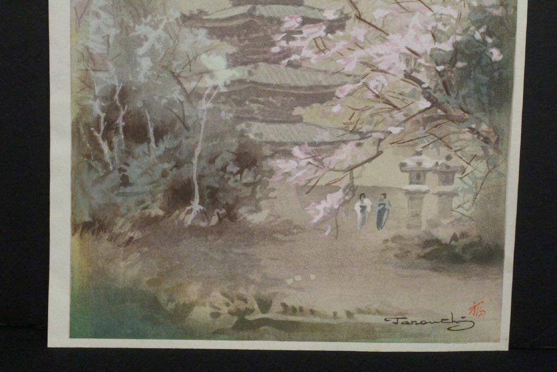 2 Japanese contemporary woodblock prints - 9