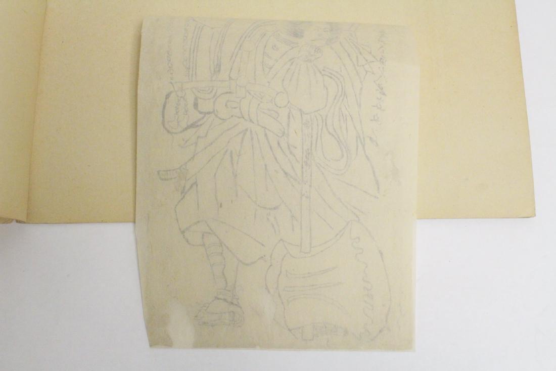 18th c. Japanese w/b print by Katsukawa Shunsho - 10