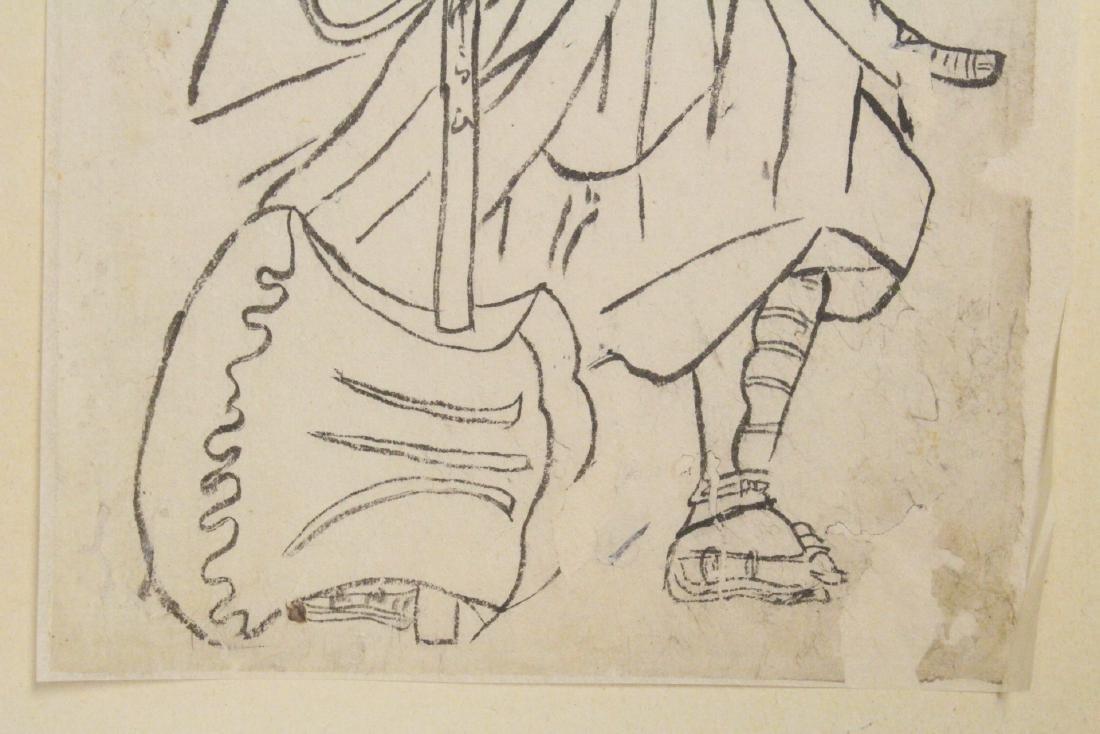 18th c. Japanese w/b print by Katsukawa Shunsho - 5