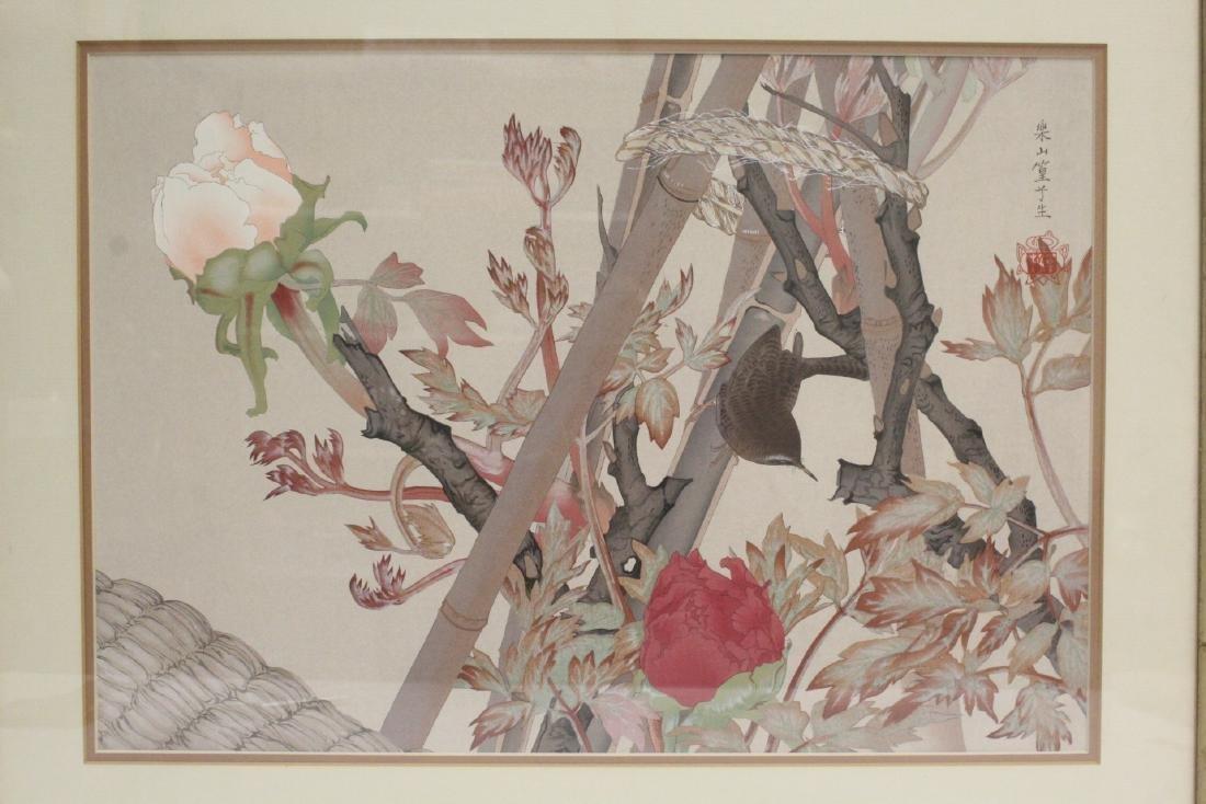 Vintage Japanese woodblock print - 10