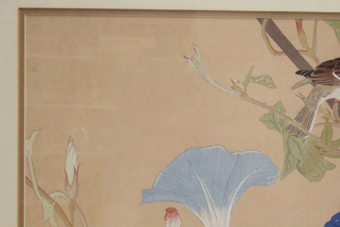 Vintage Japanese woodblock print - 3