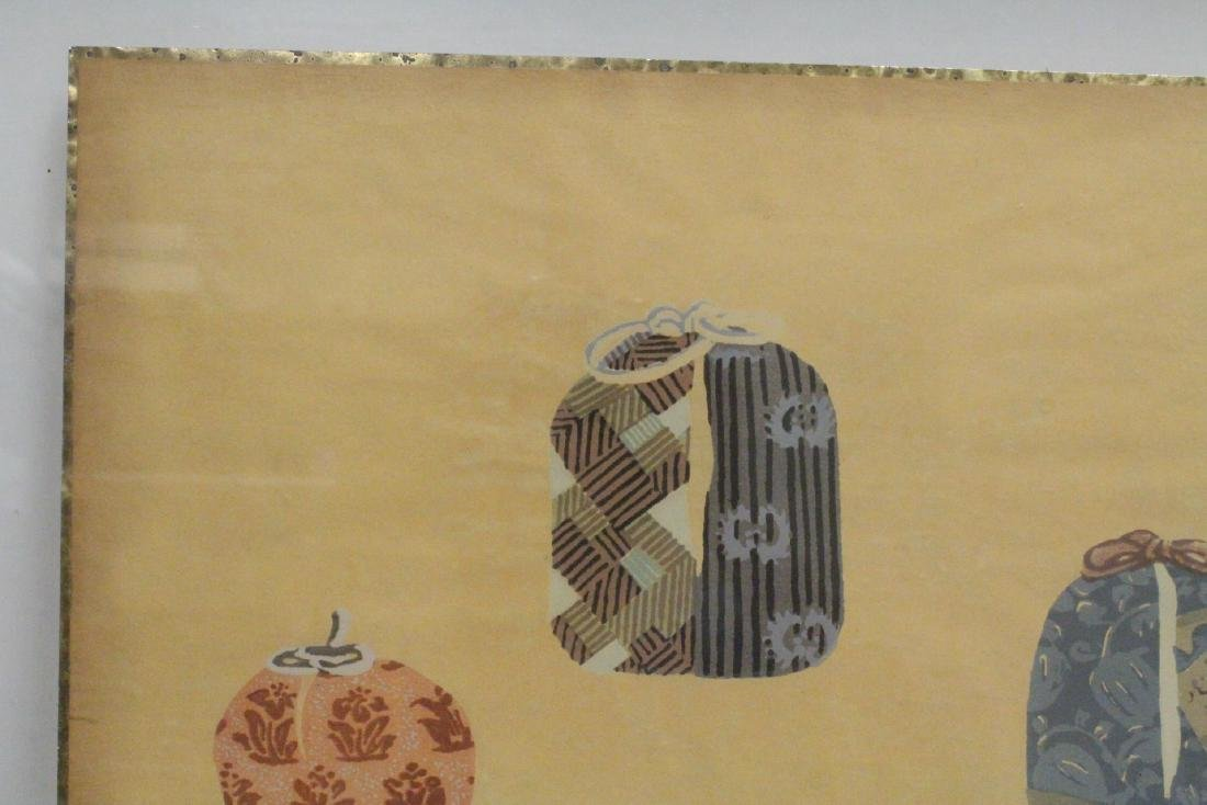 2 framed Japanese contemporary woodblock prints - 8
