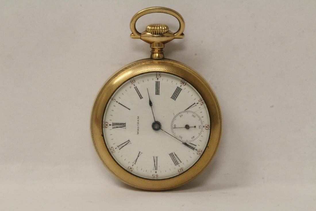 Large face Waltham pocket watch