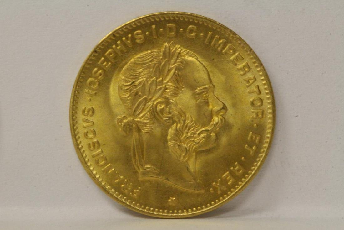 2 French dated 1892 gold coins, total wt. 6.4gm - 5