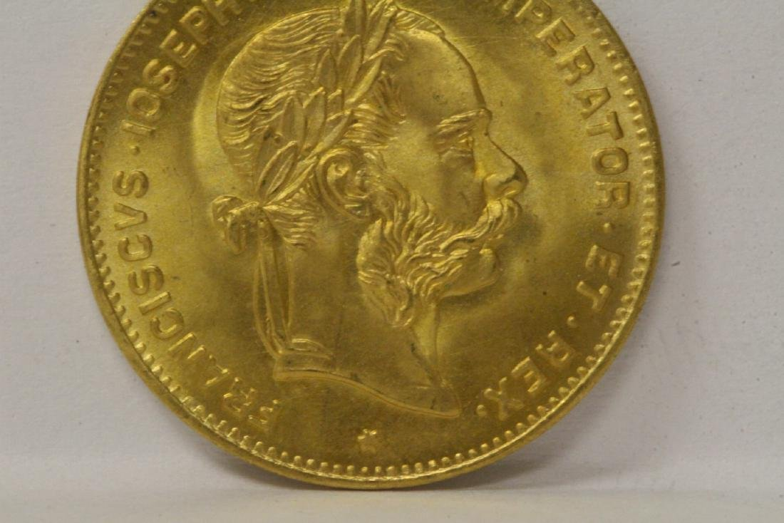 2 French dated 1892 gold coins, total wt. 6.4gm - 6