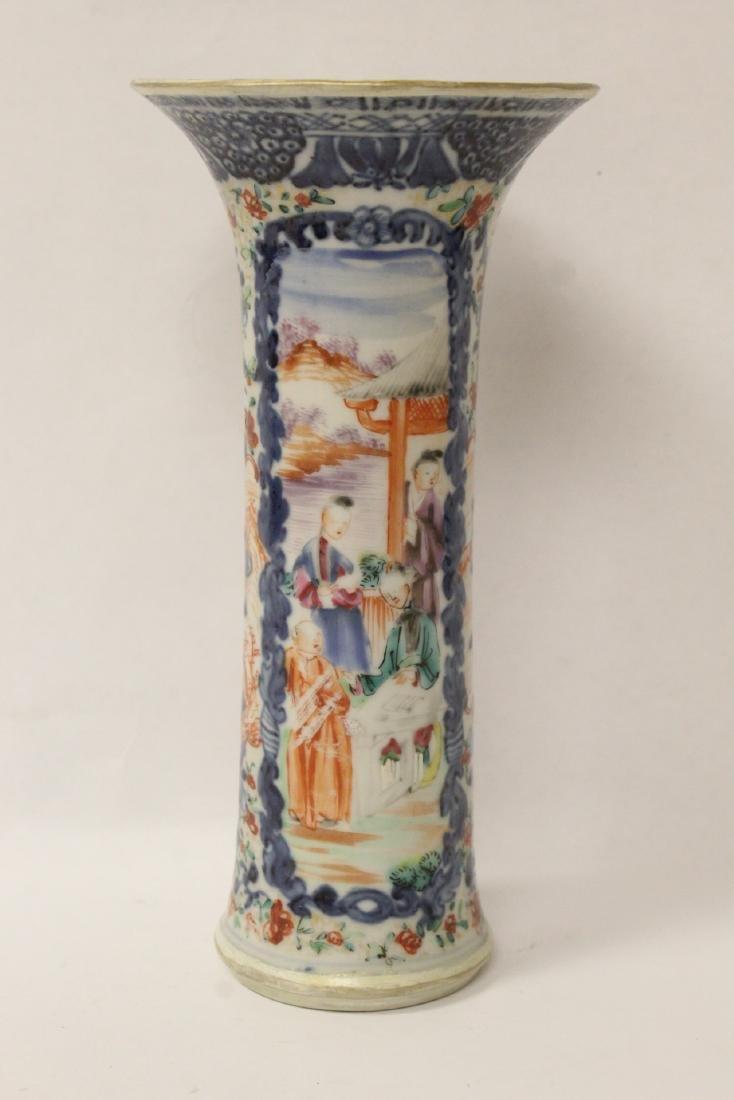 Chinese 18th/19th century porcelain vase