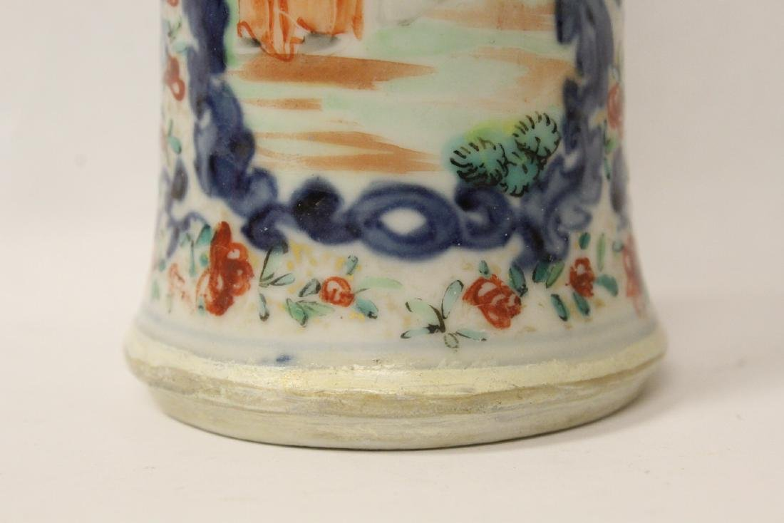 Chinese 18th/19th century porcelain vase - 3