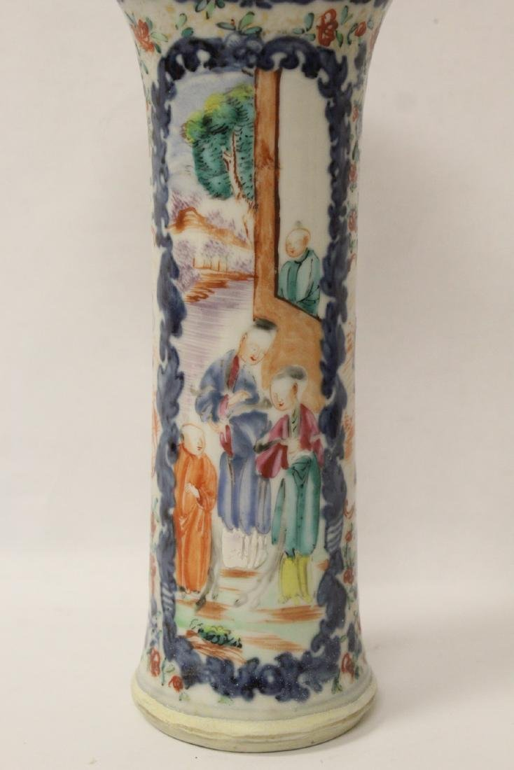 Chinese 18th/19th century porcelain vase - 7