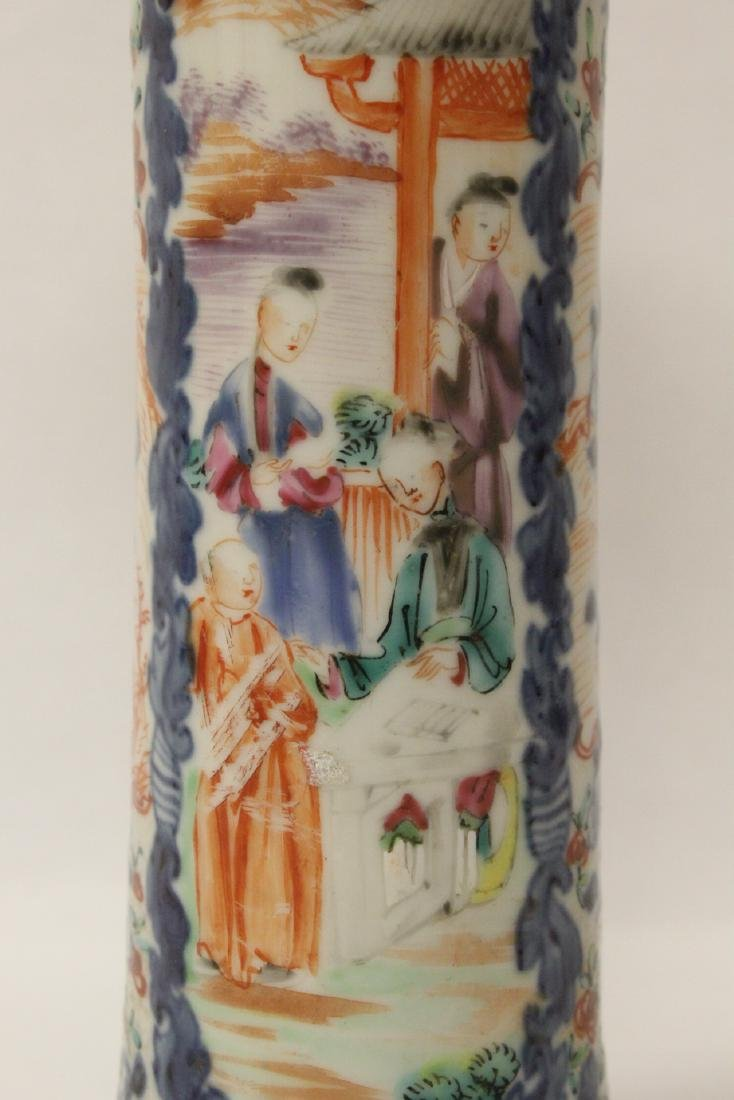 Chinese 18th/19th century porcelain vase - 8