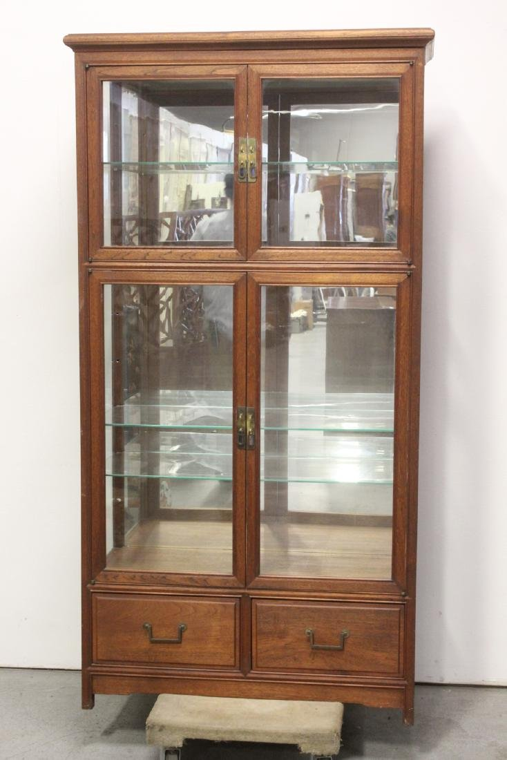 Fine Chinese rosewood display case