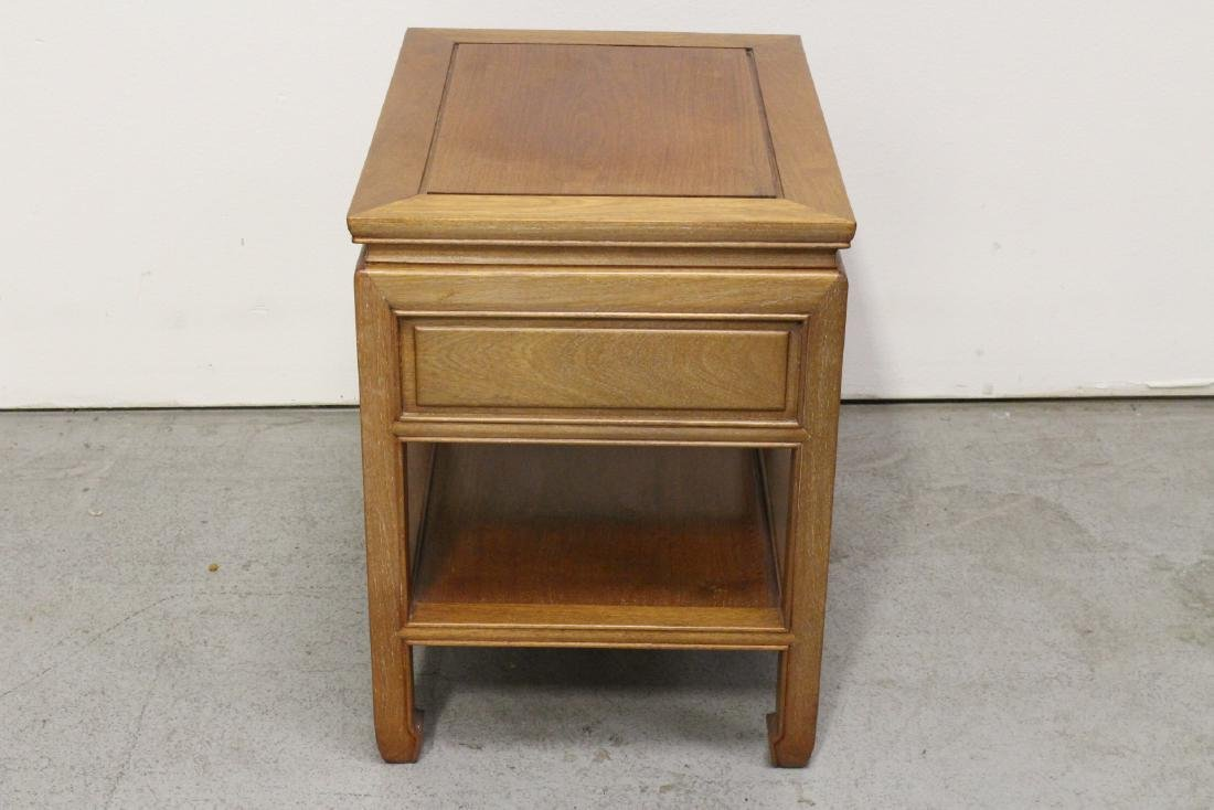 Chinese rosewood square side table - 6