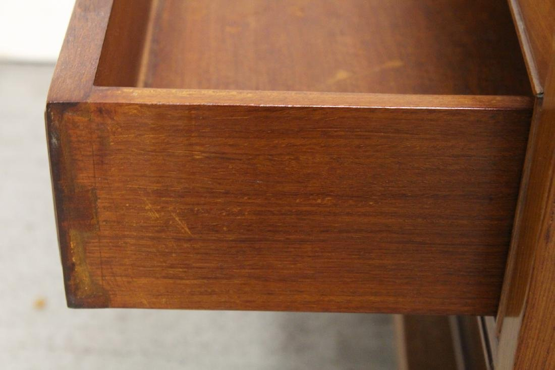 Chinese rosewood square side table - 9