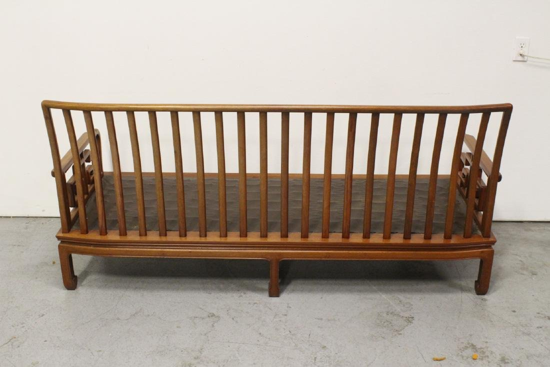 2 Chinese vintage rosewood couch - 4