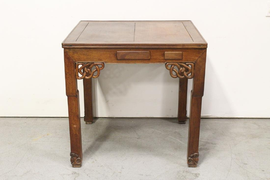 Rare Chinese antique rosewood mahjong table