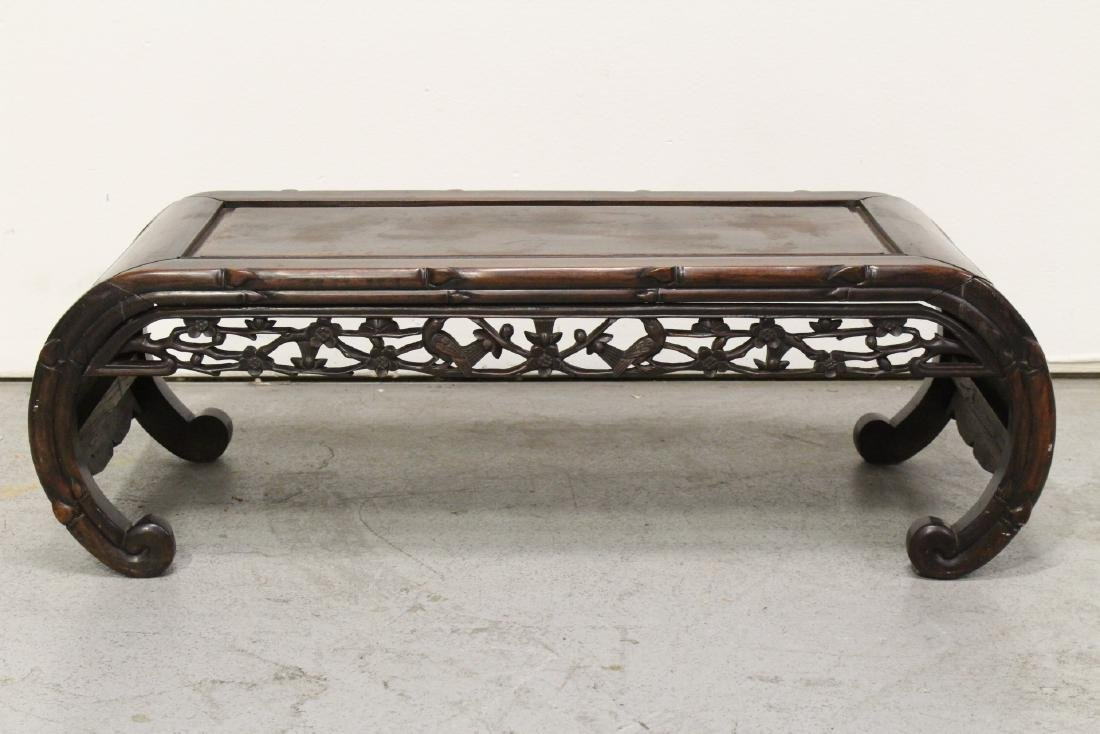 Chinese antique rosewood music instrument table