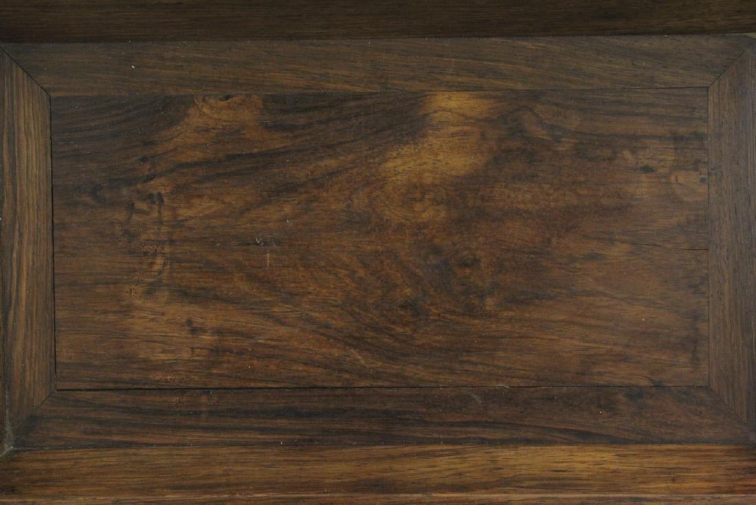 Chinese huali wood tray - 3