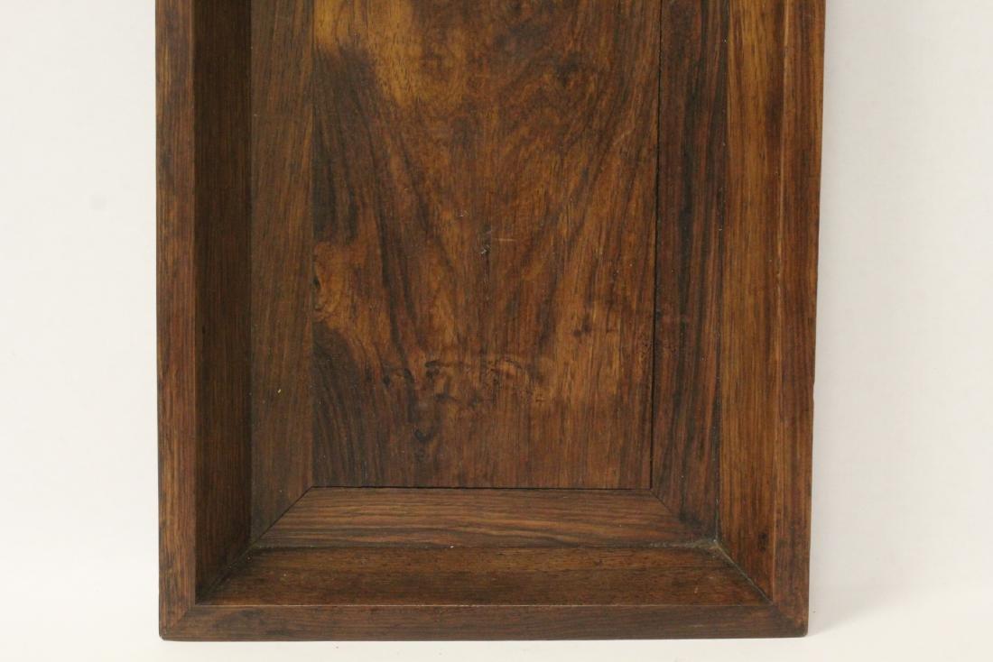 Chinese huali wood tray - 4