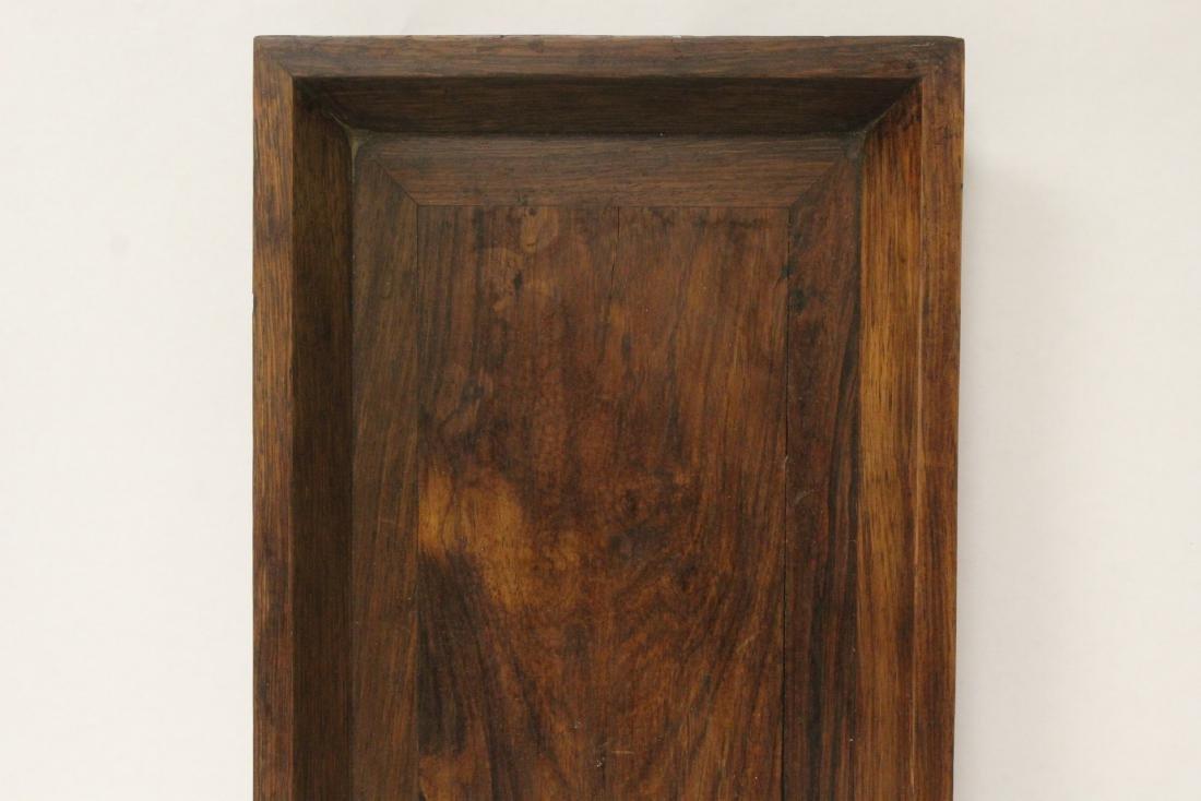 Chinese huali wood tray - 5