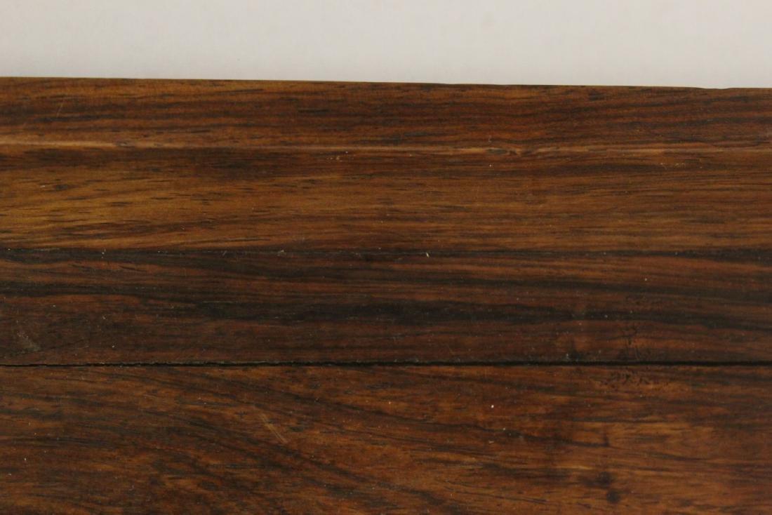 Chinese huali wood tray - 6
