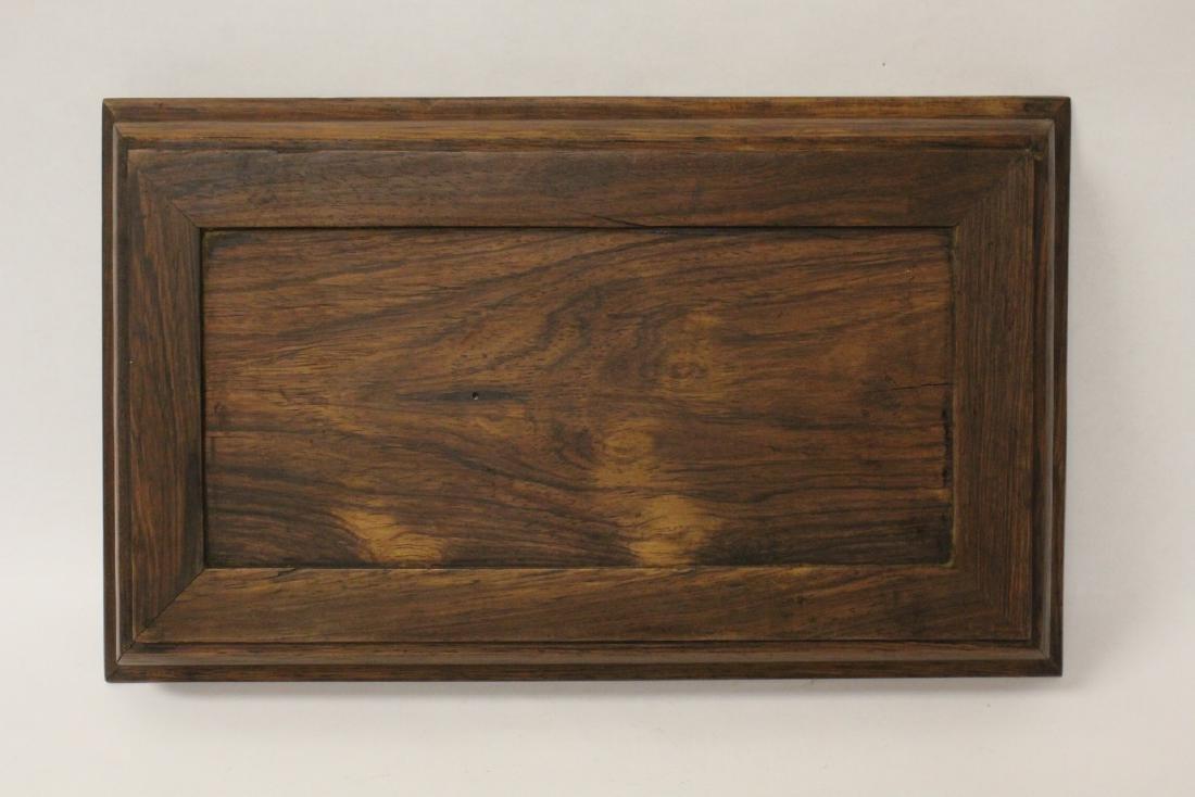 Chinese huali wood tray - 9