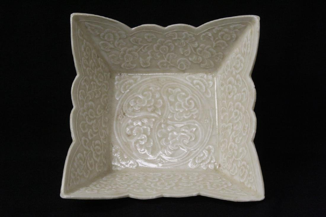 Chinese Song style square bowl