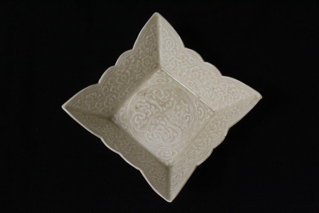 Chinese Song style square bowl - 7
