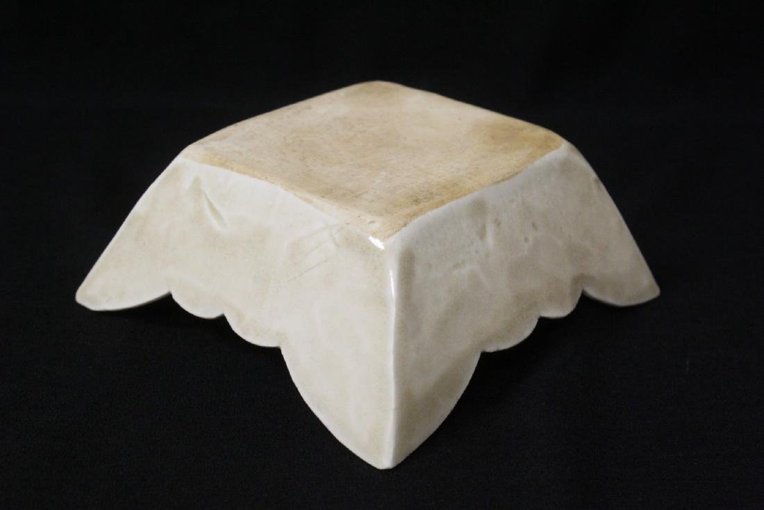 Chinese Song style square bowl - 9