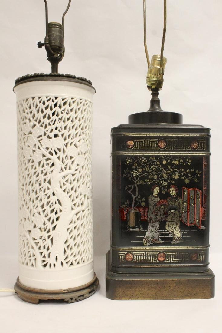 2 Chinese lamps - 10