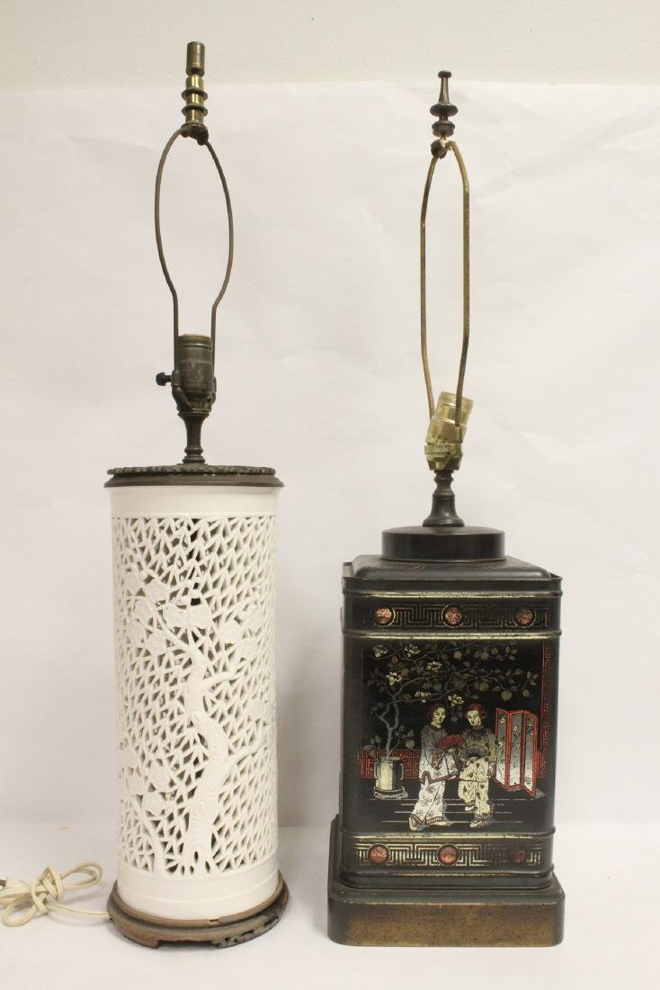 2 Chinese lamps