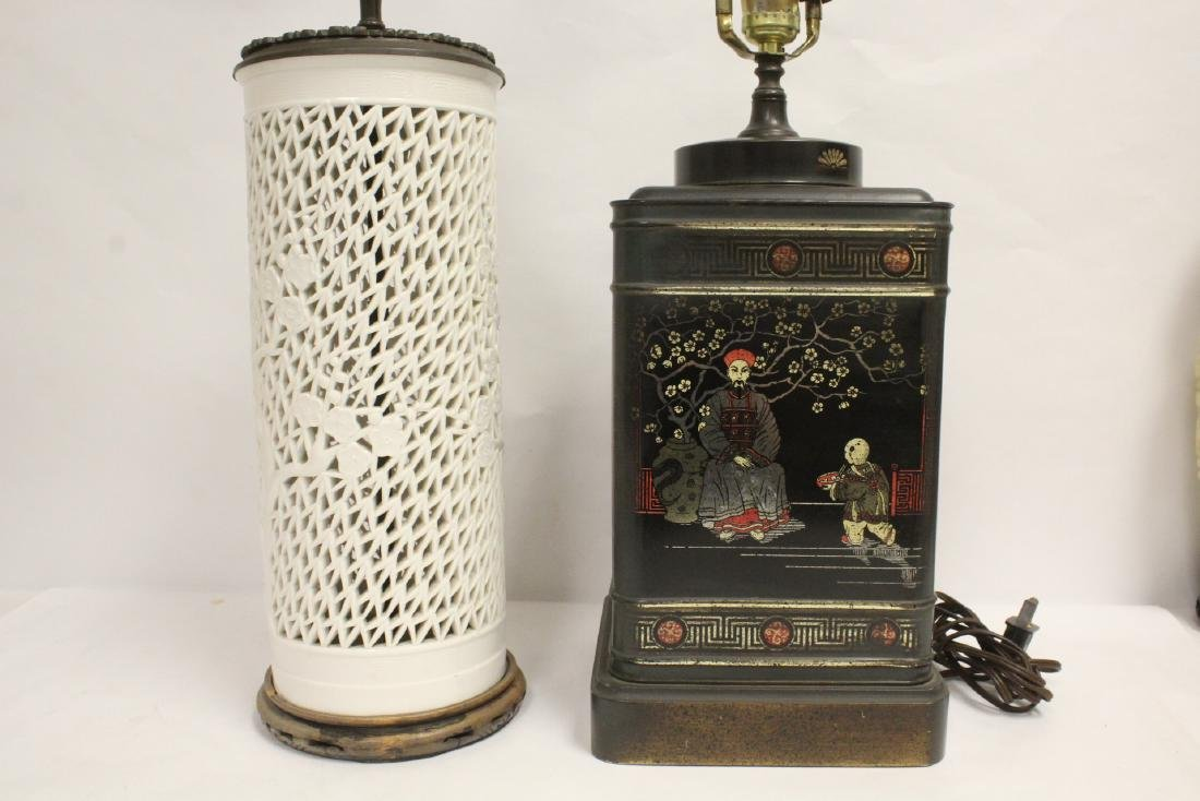 2 Chinese lamps - 2