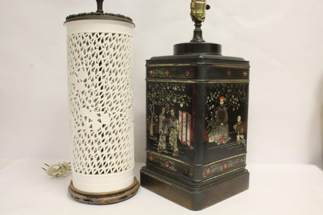2 Chinese lamps - 8