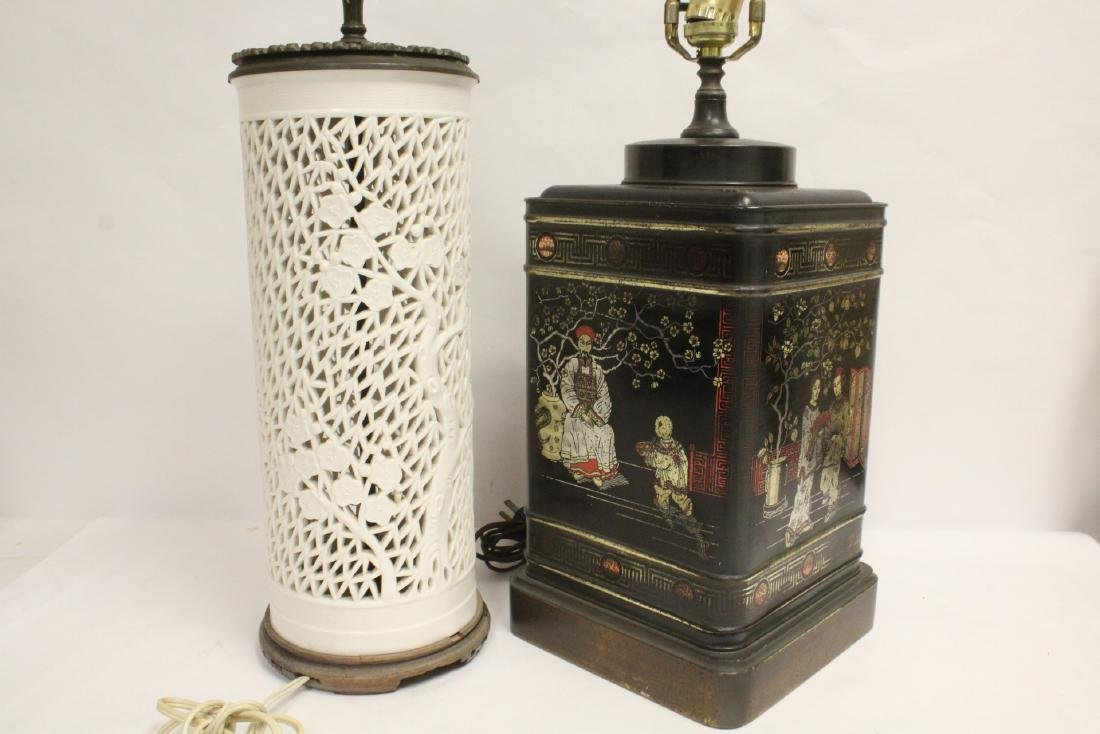 2 Chinese lamps - 9