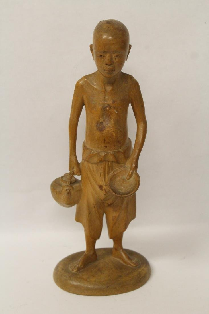 Very fine wood carved figure