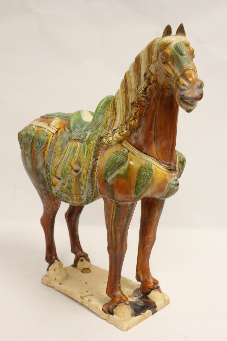 Chinese sancai style horse - 10