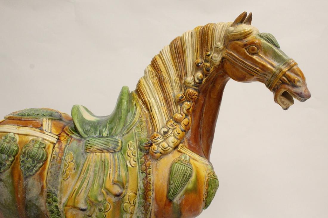 Chinese sancai style horse - 6