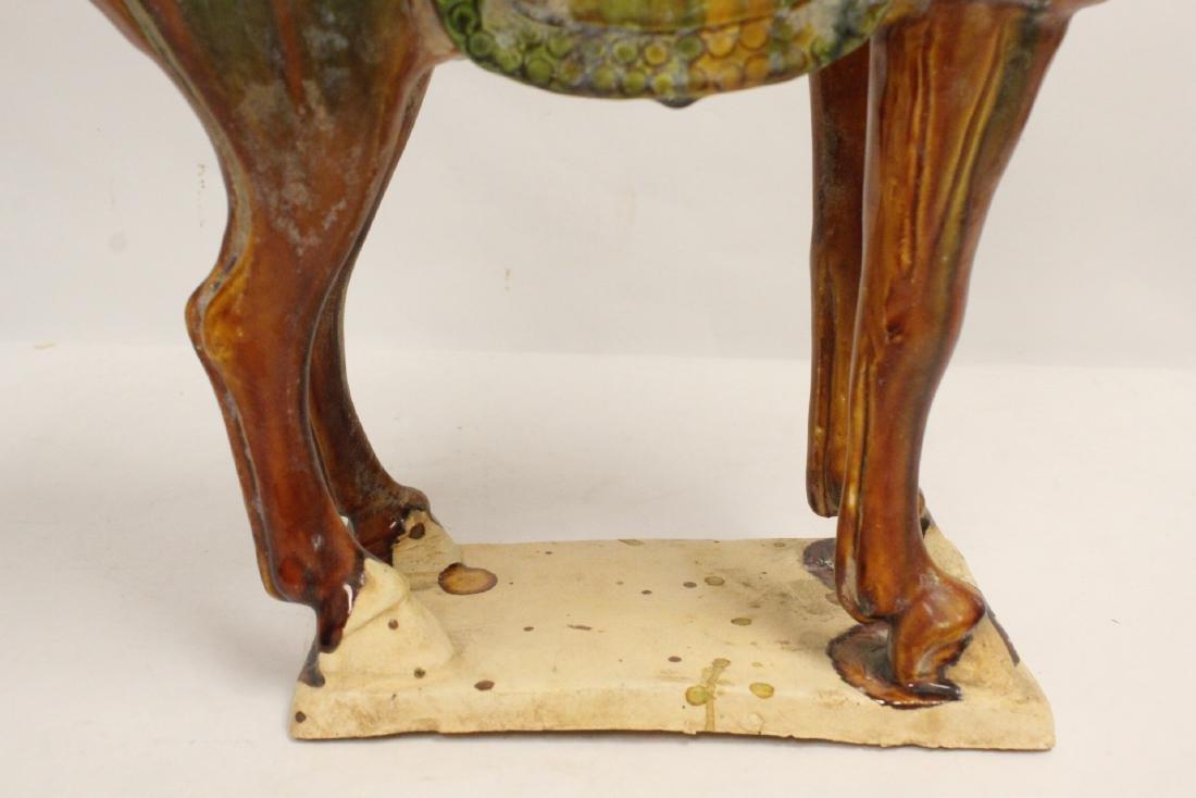 Chinese sancai style horse - 8