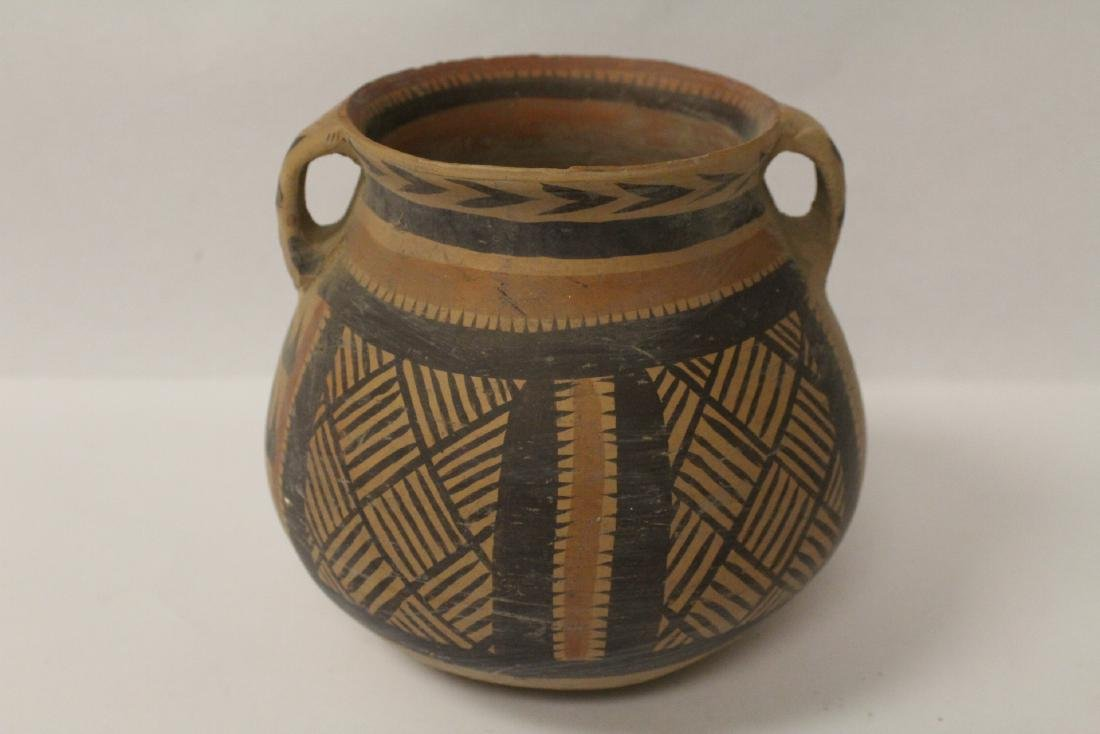 2 Chinese neolithic style pottery jars - 8