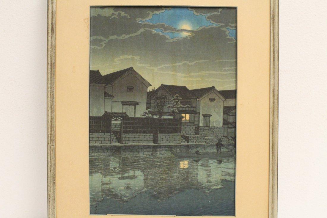 Japanese w/b print by Kawase Bunjiro Hasui - 2