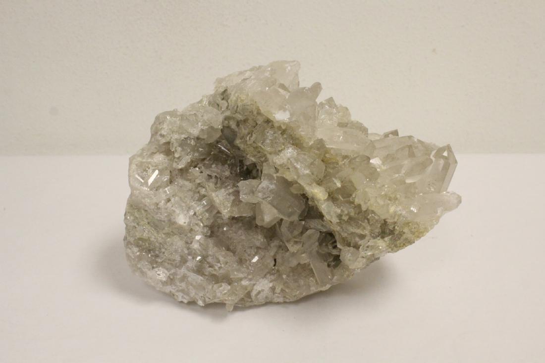 A natural crystal boulder - 10