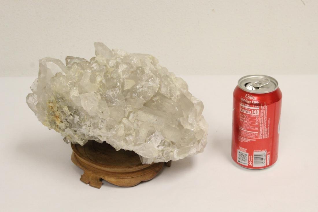 A natural crystal boulder - 2