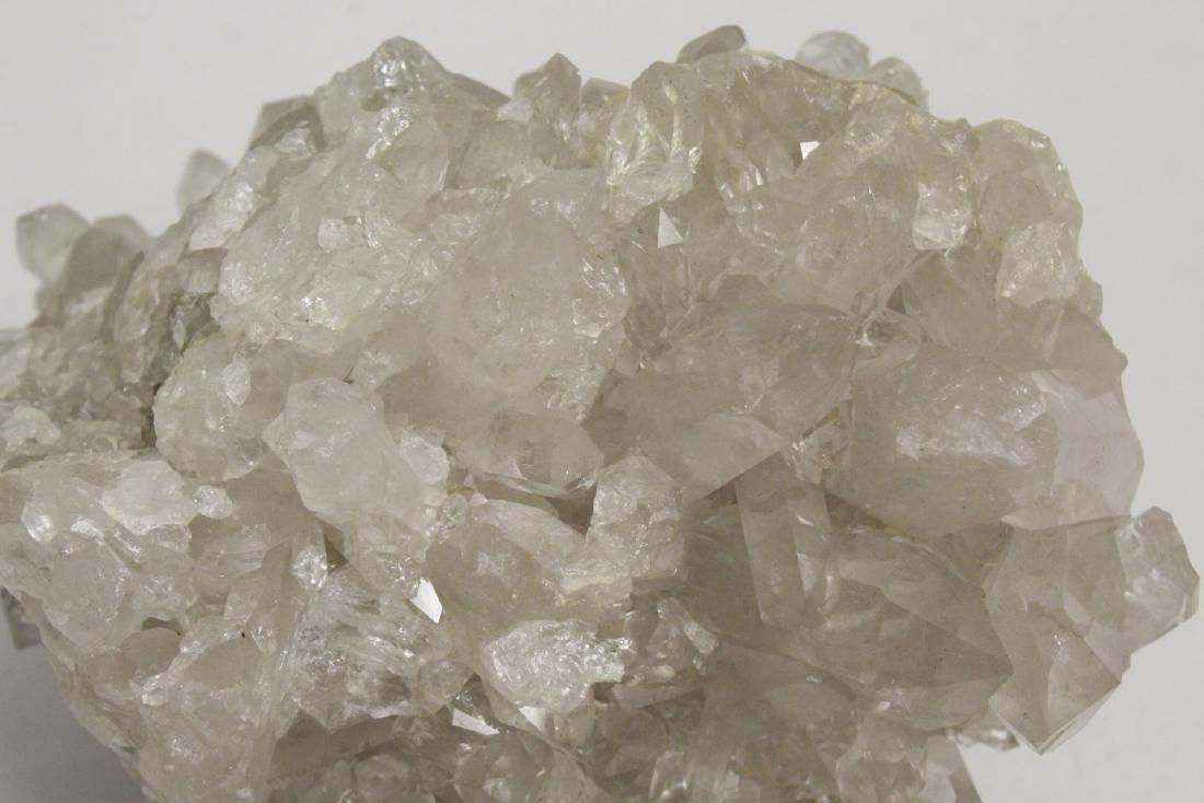 A natural crystal boulder - 9