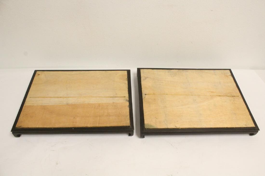 6 zitan wood frame bases - 2