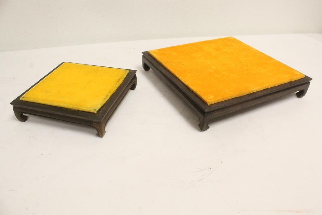 6 zitan wood frame bases - 7