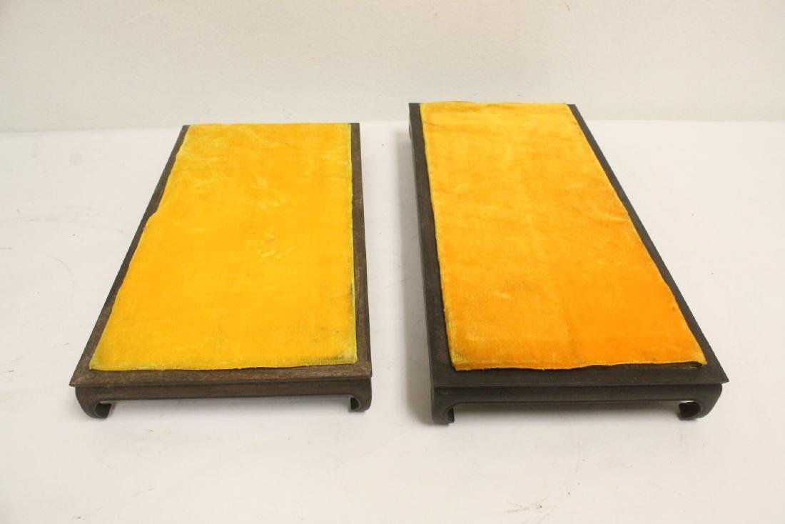 6 zitan wood frame bases - 9